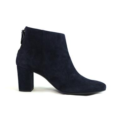8A PAUL GREEN - BLUE POINTED TOE ANKLE - NAVY