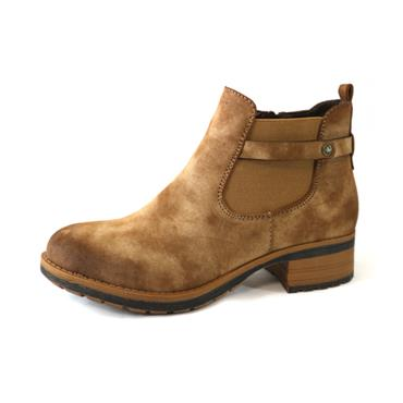 52 RIEKER BROWN ANKLE BOOT - BROWN