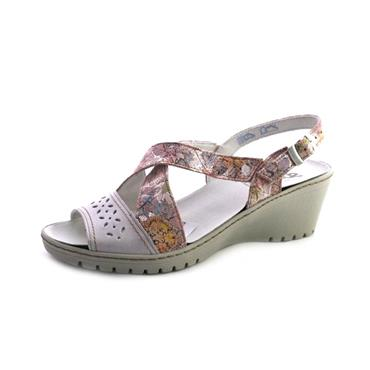 NO22/22A SUAVE - WEDGE SANDAL - PRINT