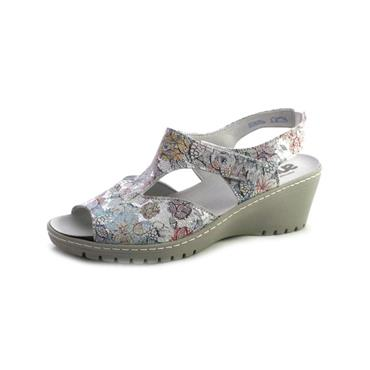 NO20 SUAVE - WEDGE PRINT SANDAL - PRINT