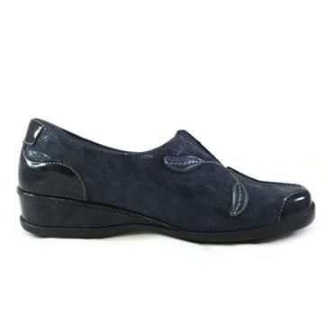 4G SUAVE SLIP ON W/ FLOWER - NAVY