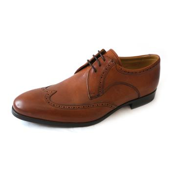 D6 BARKER  FORMAL SHOE - BROWN