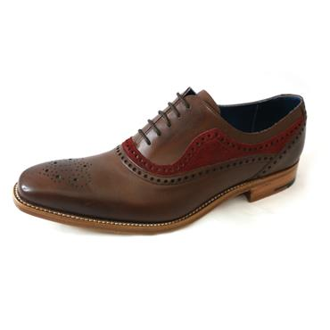 11 Barker BRANDON WALNUT BURGUNDY - BROWN