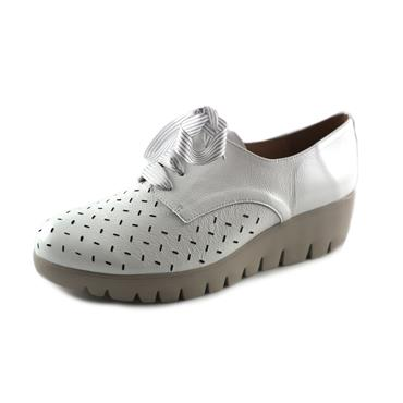 NO3 WONDERS LACED OFF WHITE SHOE - WHITE