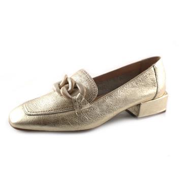 NO9 WONDERS PLATINO SLIP ON SHOE W DECOR - GOLD