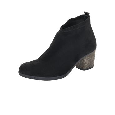 12 REMONTE BLACK  ANKLE BOOT - BLACK