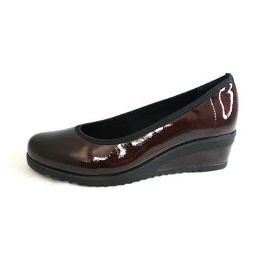 NO10 REMONTE - WINE SLIP ON WEDGE - WINE