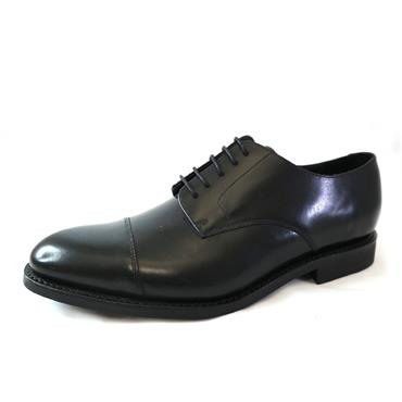 13 BARKER BLACK FORMAL SHOE - BLACK
