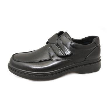 No1/1A PATRICKS - VELCRO SHOE - BLACK