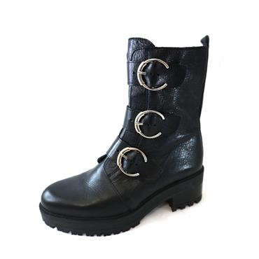 9 WONDERS ASTRO ANKLE BOOT - BLACK