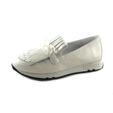 NO1A HIS - SLIP ON TRAINER - WHITE