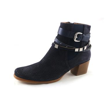 NO1A RLC NAVY BOOT WITH STRAPS - NAVY
