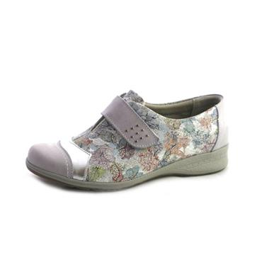 NO2B SUAVE JOAN IVORY LOTUS SHOE WITH - IVORY NATURAL