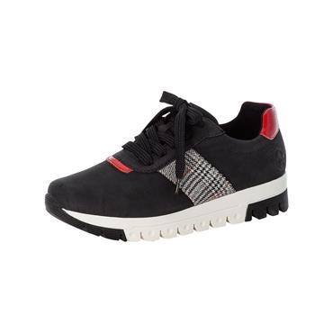 35 RIEKER NAMUR LACED TRAINER - BLACK