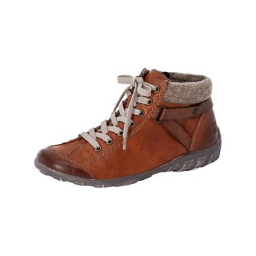 9 RIEKER CASUAL LACED HIGH TOP - CAYENNE