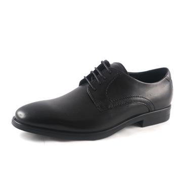 3  ECCO - MELBOURNE LACED BLACK/MAGNET - BLACK