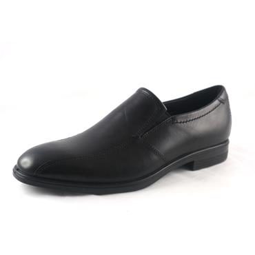 NO20 ECCO - MELBOURNE SLIP ON BLACK - BLACK