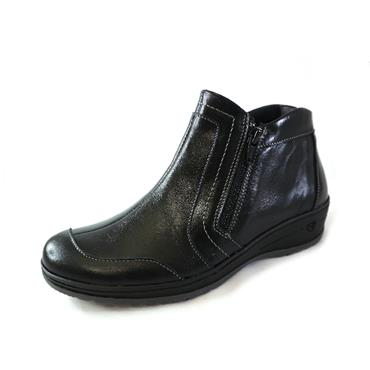 31 SUAVE BLACK ANKLE BOOT - BLACK