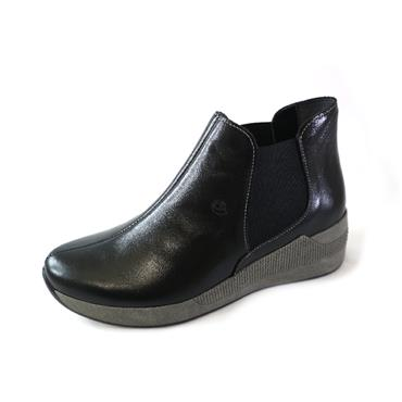 33A SUAVE BLACK ANKLE BOOT - BLACK