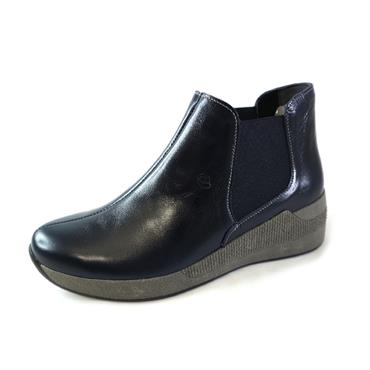 33 SUAVE NAVY ANKLE BOOT - NAVY