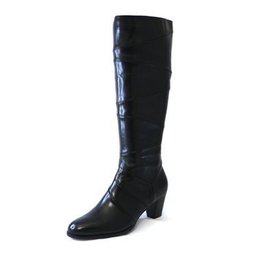 2 RLC BLACK KNEE HIGH BOOOT - BLACK