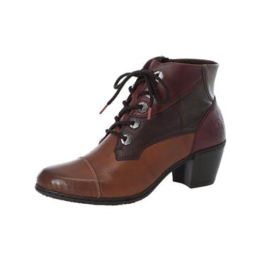 80 RIEKER VINCENTE LACED ANKLE BOOT - BROWN