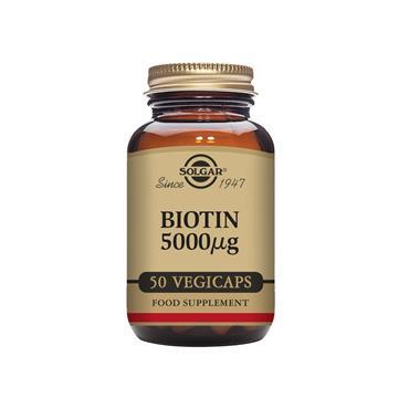 SOLGAR Biotin 5000 ug 50s