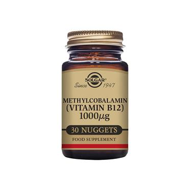 SOLGAR Methylcobalamin (Vitamin B12) 1000 ug 30s