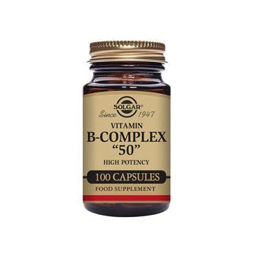 """SOLGAR Formula Vitamin B-Complex """"50"""" 100s"""