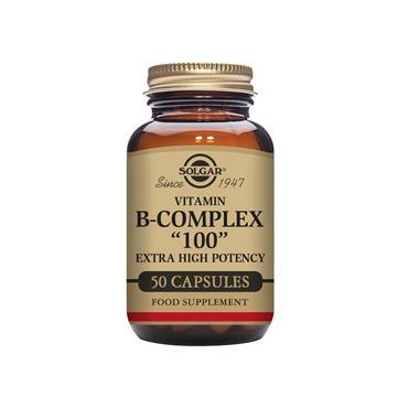 """SOLGAR Formula Vitamin B-Complex """"100"""" 50s"""