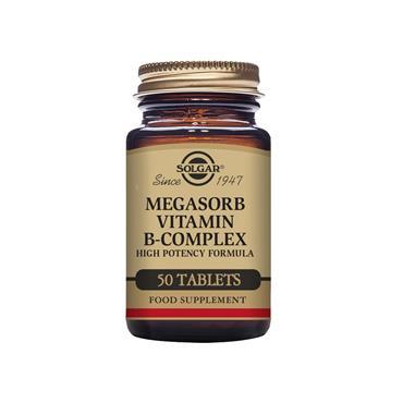 SOLGAR Megasorb Vitamin B-Complex 50s