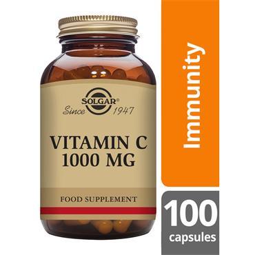 SOLGAR Vitamin C 1000 mg 100s
