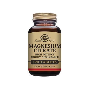 SOLGAR Magnesium Citrate 120s