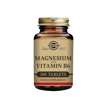 SOLGAR Magnesium with Vitamin B6 100s