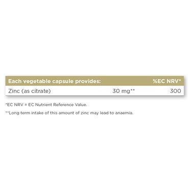 SOLGAR Zinc Citrate 30 mg 100s