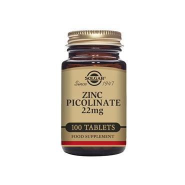 SOLGAR Zinc Picolinate 22 mg 100s