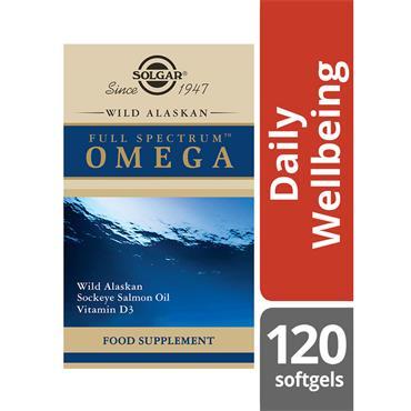 SOLGAR Wild Alaskan Full Spectrum Omega 120s