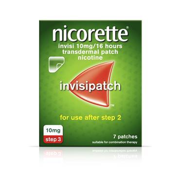 NICORETTE INVISIBLE PATCH 10MG 7