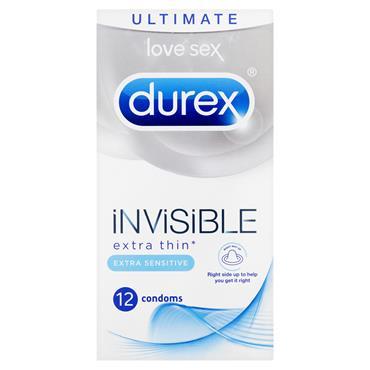 DUREX Invisible Sensitive 12's