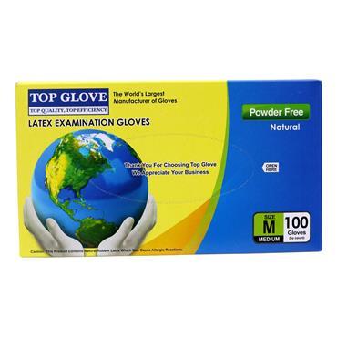 Top Glove Latex Powder Free M