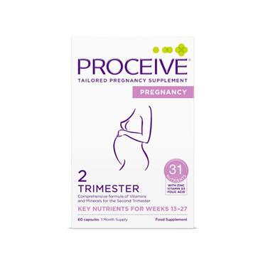 PROCEIVE PREGNANCY T2 - 60 Capsules