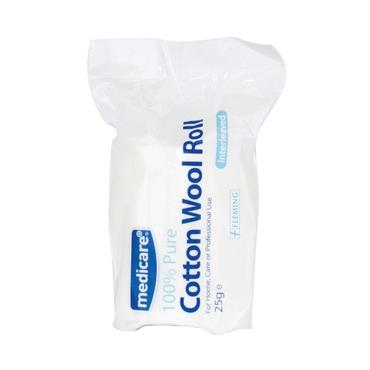 MEDICARE COTTON WOOL ROLL 100G
