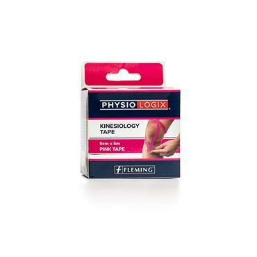 PHYSIOLOGIX PINK KINESIOLOGY TAPE 5CM X 5M