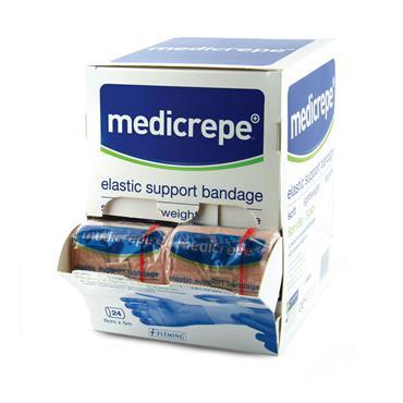 MEDICREPE ELASTIC CREPE BANDAGE 8CM X 5M