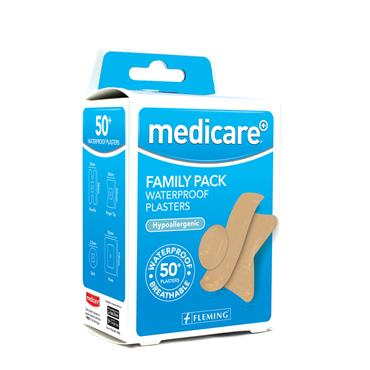 MEDICARE WATERPROOF FAMILY PACK OF 50'S