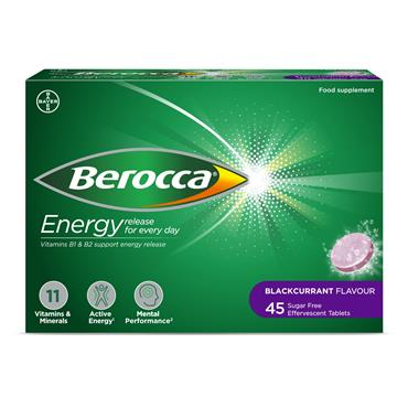 BEROCCA BLACKCURRANT VALUE PACK 45s