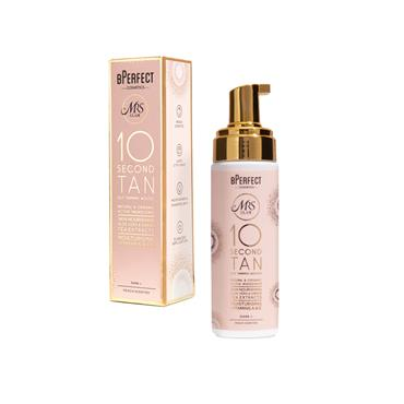 BPERFECT MRS GLAM 10 SECOND TAN MOUSSE DARK+