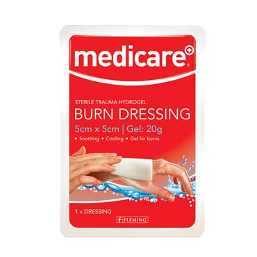MEDICARE BURN DRESSING 5 X 5CM