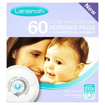 LANSINOH Disposable Nursing Pads  60