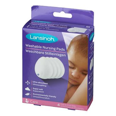Lansinoh Washable Breast Pads NEW